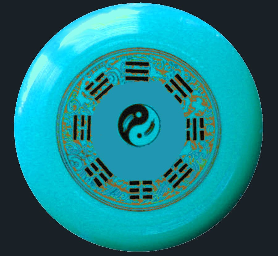 I Ching frisbee